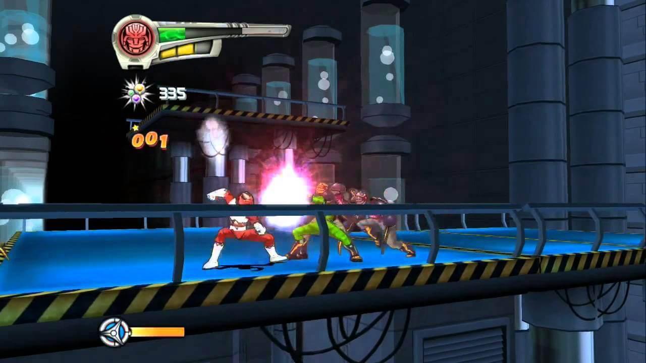 بازی Power Rangers Super Legends